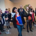 Noelia Mora Solvez modtager Publikumsprisen 2018 (Foto: Flemming Krogh)